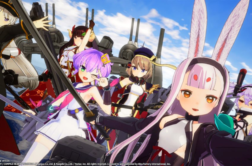 Azur Lane Switch Screenshot