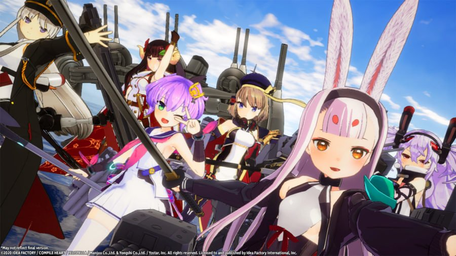 Azur Lane: Crosswave for Switch releasing 2021