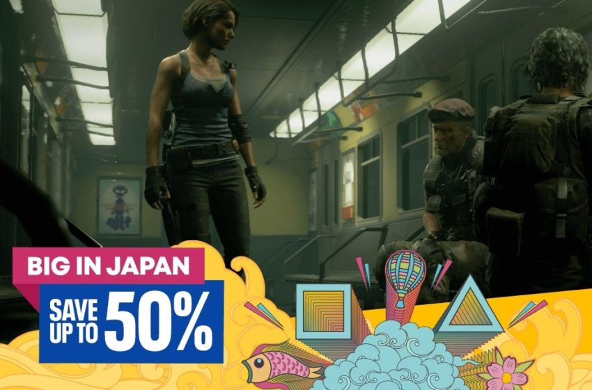 Sony's Big in Japan 2020 sale is now on.