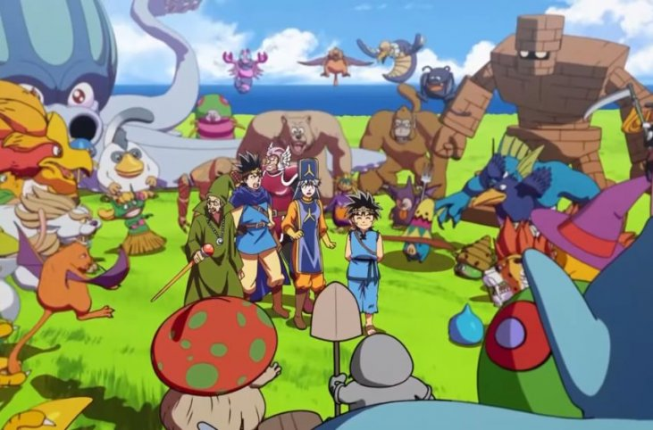 New Dragon Quest The Adventure Of Dai Anime Starts October 3 In Japan Rice Digital
