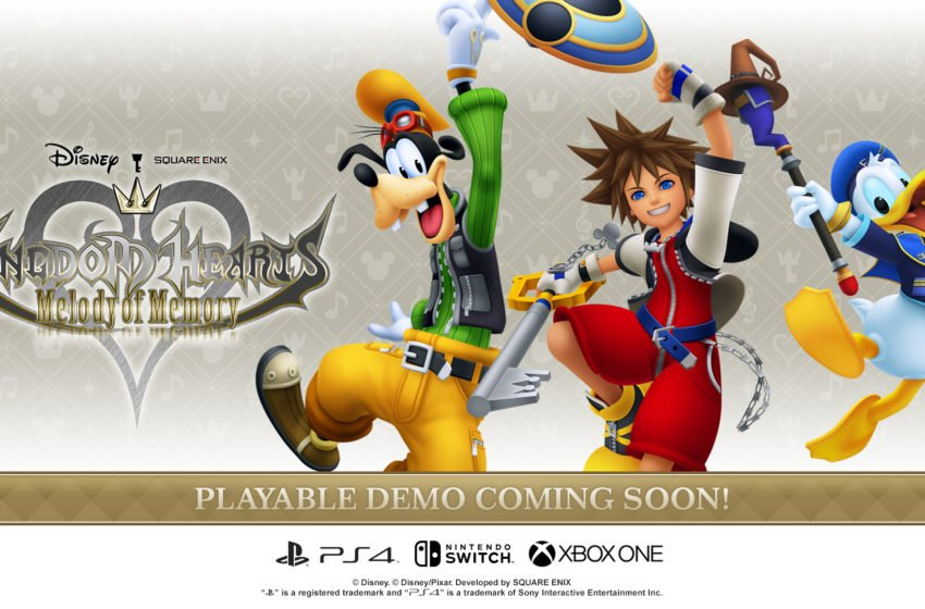 Kingdom Hearts: Melody of Memory demo arriving in October