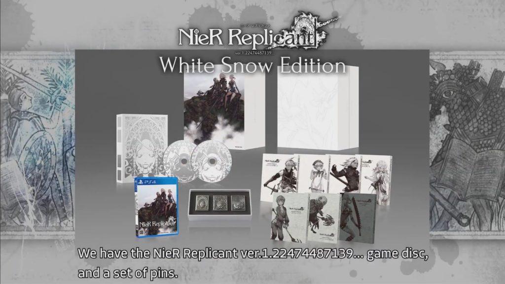 Nier white snow edition