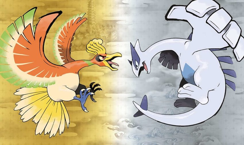Pokemon HeartGold SoulSilver lugia and ho-oh