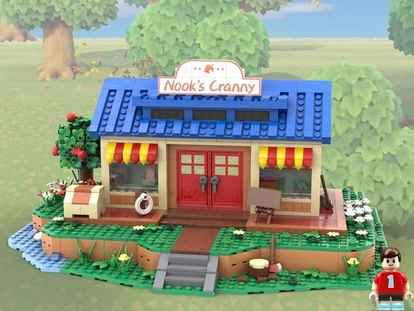 Fan-made Animal Crossing LEGO set will be officially reviewed