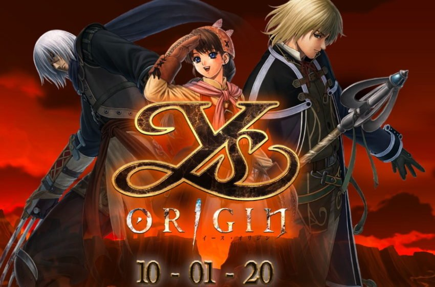 Switch version of Ys Origin releases October 1