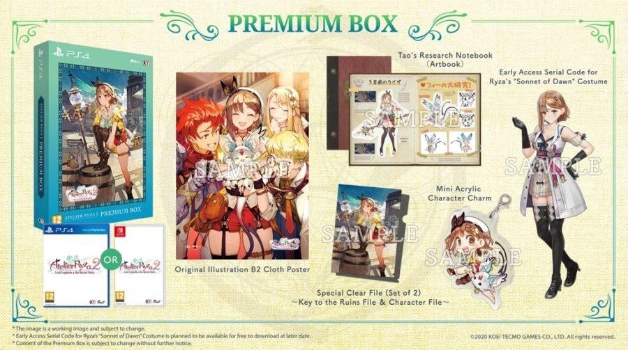 Atelier Ryza 2 collectors box