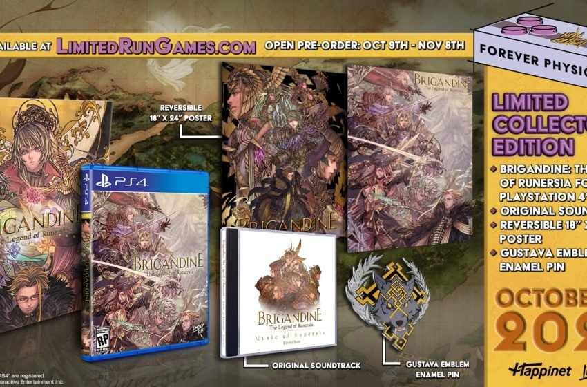 Brigandine: The Legend of Runersia to receive PS4 Collector's Edition via Limited Run Games