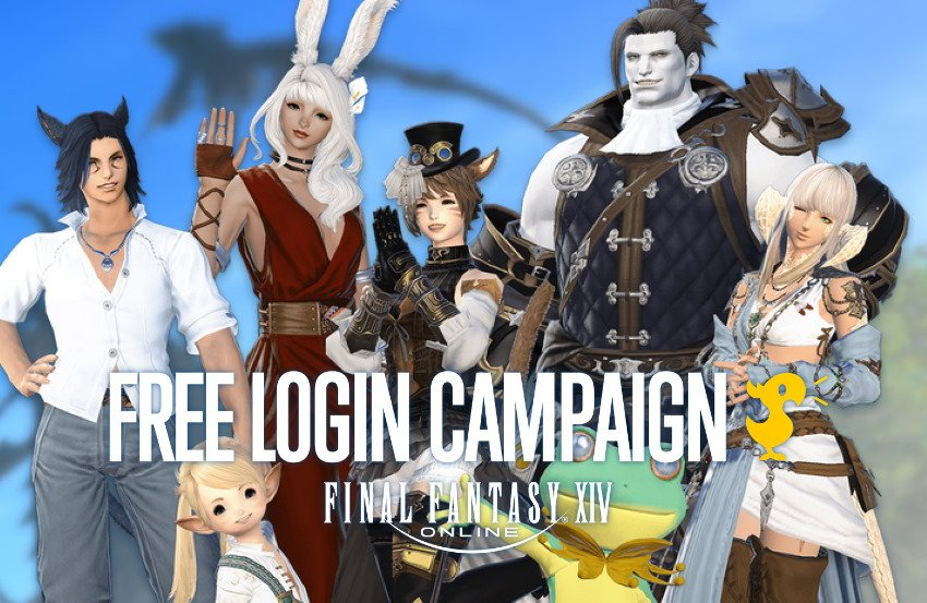 Get 4 days of playtime with latest Final Fantasy XIV Free Login Campaign