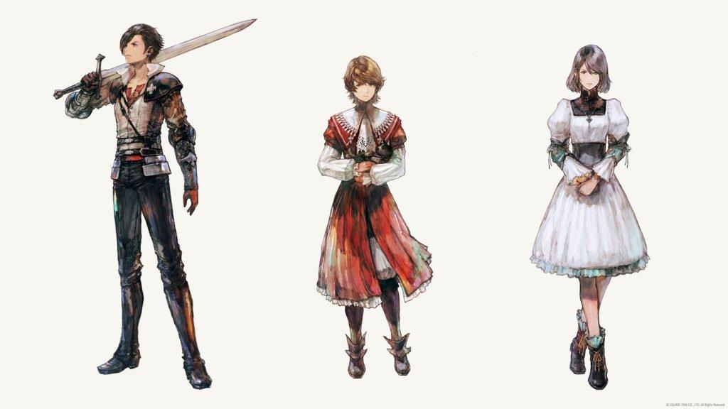 Final Fantasy XVI characters