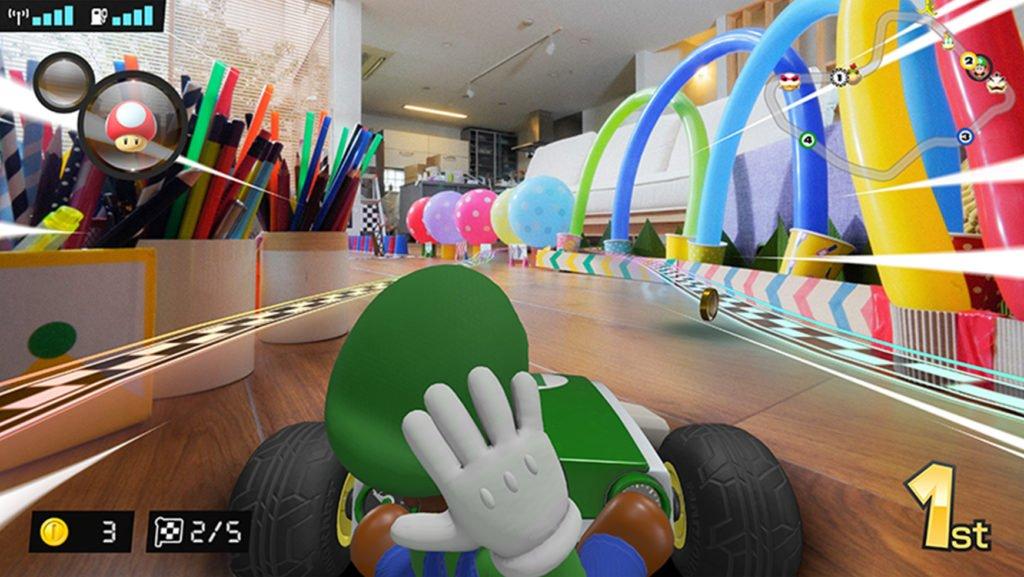 Mario Kart Live 1