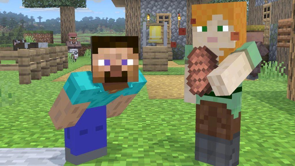 Smash Ultimate Steve and Alex