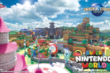 Super Nintendo World (probably) opening February 2021