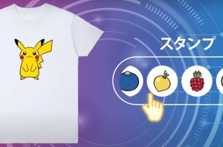 Pokemon Design Lab lets fans produce snazzy custom merch