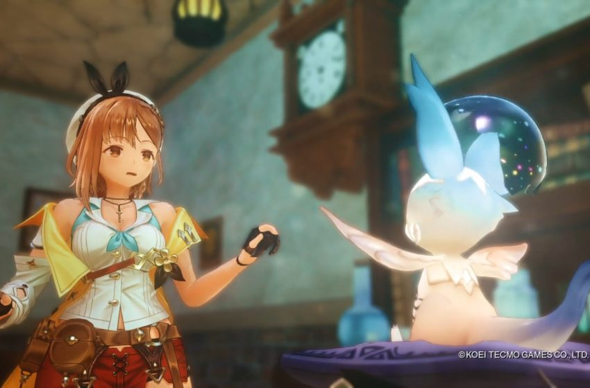 Atelier Ryza 2: Lost Legends & the Secret Fairy prologue movie recaps events of first game