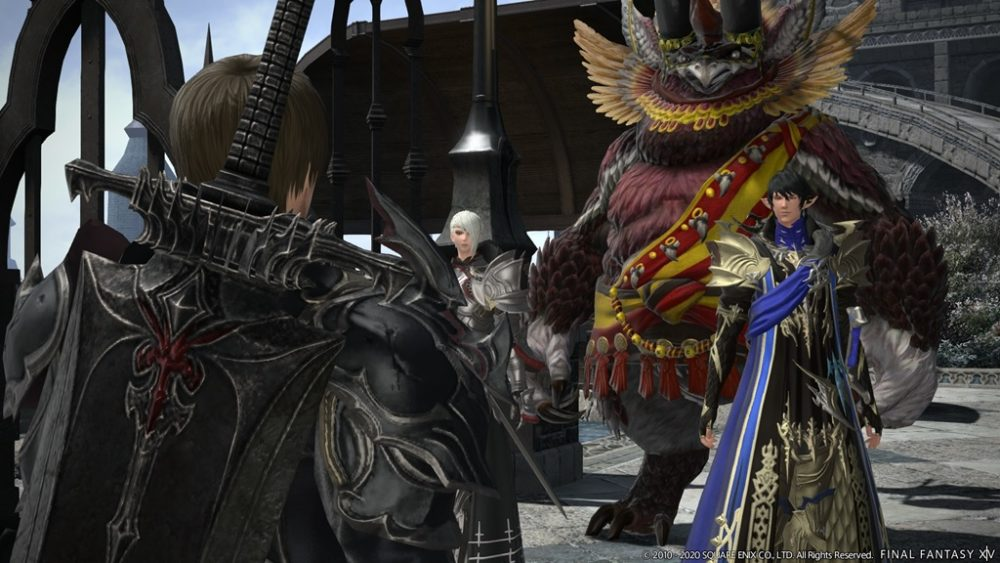 Final Fantasy XIV Patch 5.4 screenshot