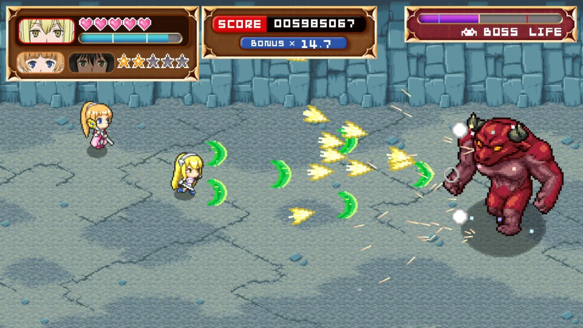 Is It Wrong to Try to Shoot 'Em Up Girls in a Dungeon? out now for free