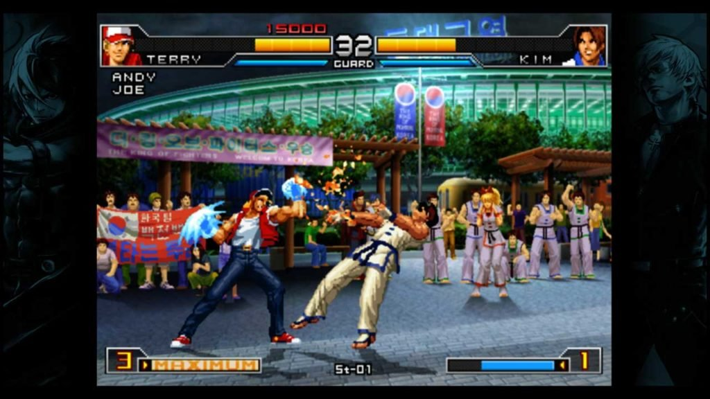 The King of Fighters 2002 Unlimited Match screenshot