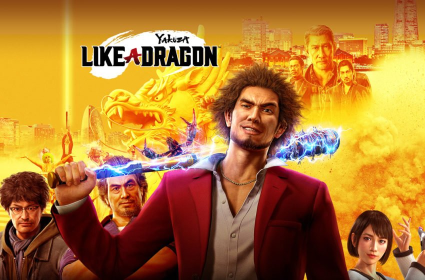 Yakuza Like a Dragon key art