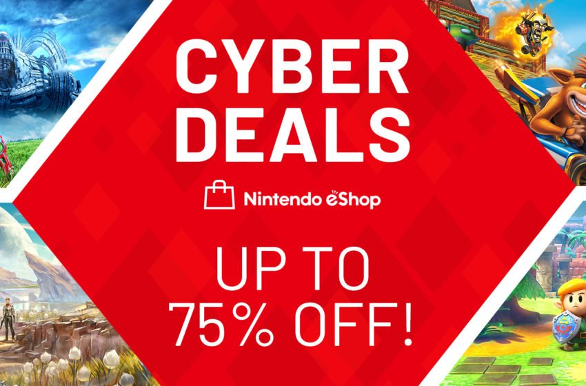 Switch eShop Cyber Deals sale available now