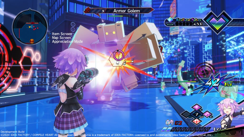 Neptunia Virtual Stars PC screenshot