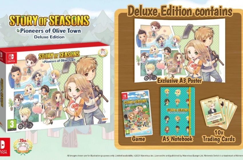 Story of Seasons: Pioneers of Olive Town gets a Deluxe Edition