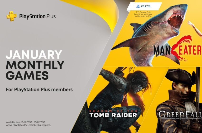 January 2021 PlayStation Plus games revealed