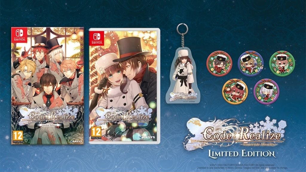 Code Realize Wintertide Miracles Switch limited edition