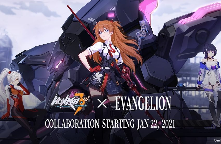 Evangelion comes to Honkai Impact 3rd later this month