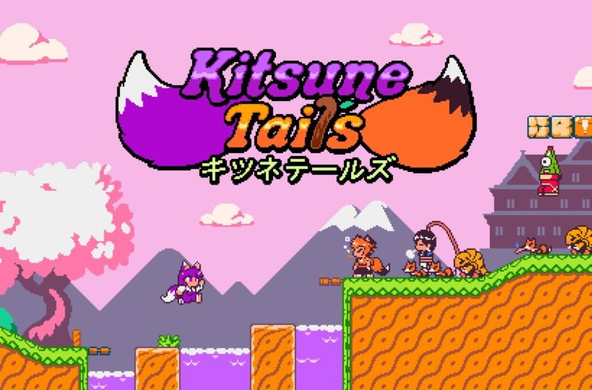 Kitsune Tails is a super-cute platformer inspired by Japanese mythology