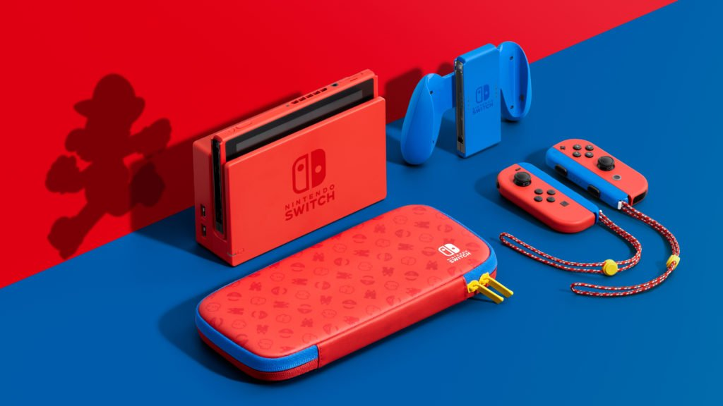 Mario themed Switch