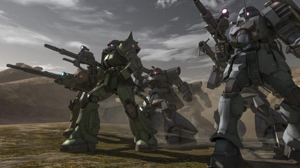 Mobile Suit Gundam Battle Operation 2 PS5 screenshot