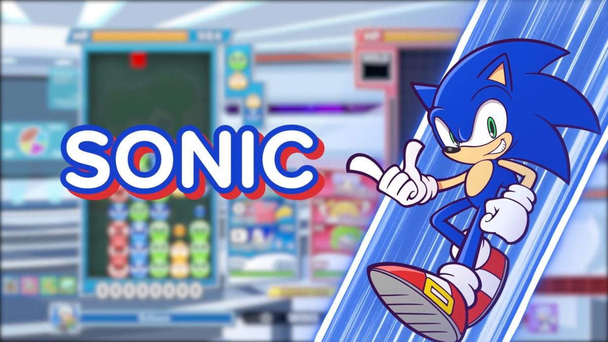Sonic joins Puyo Puyo Tetris 2 via free update