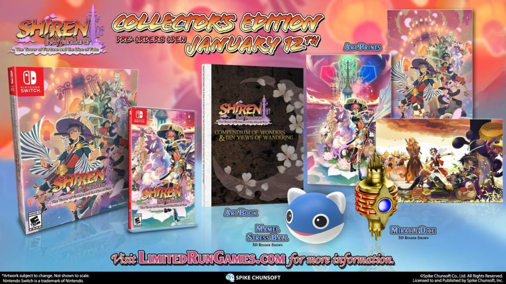 Shiren the Wanderer 5 Collector's Edition