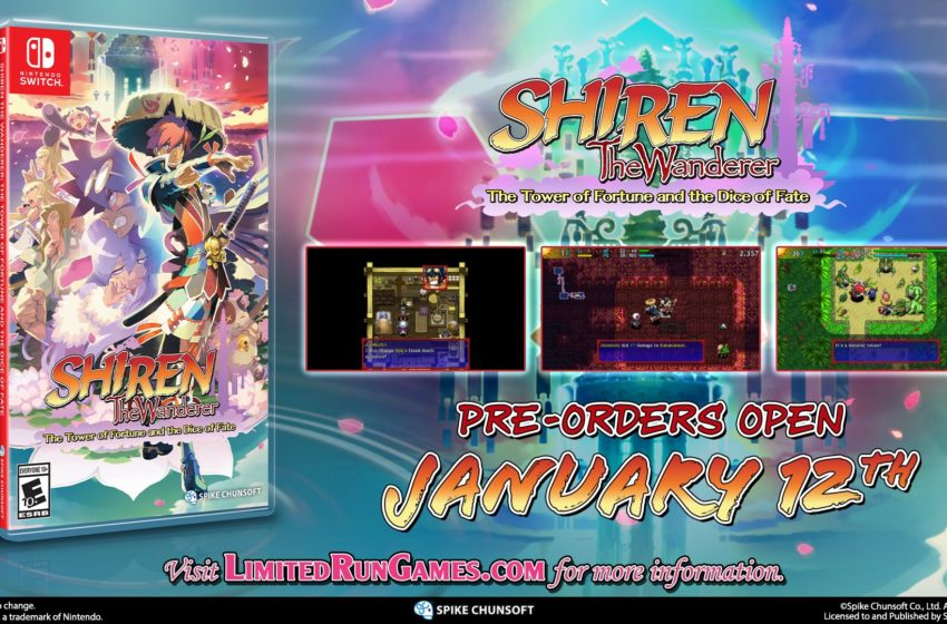 Shiren the Wanderer 5 Limited Run Games