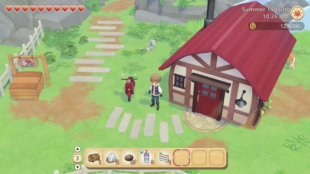 Story of Seasons Pioneers of Olive Town house customisation screenshot