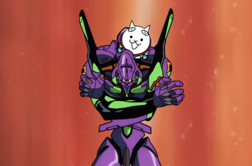 Why is there an official cat version of the Evangelion theme?