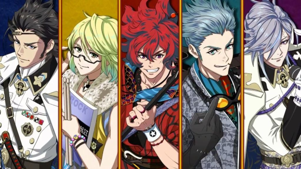 Bakumatsu Rock, an import game for Vita