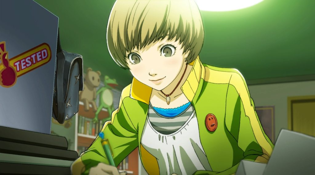 Chie, one of many short-haired anime girls