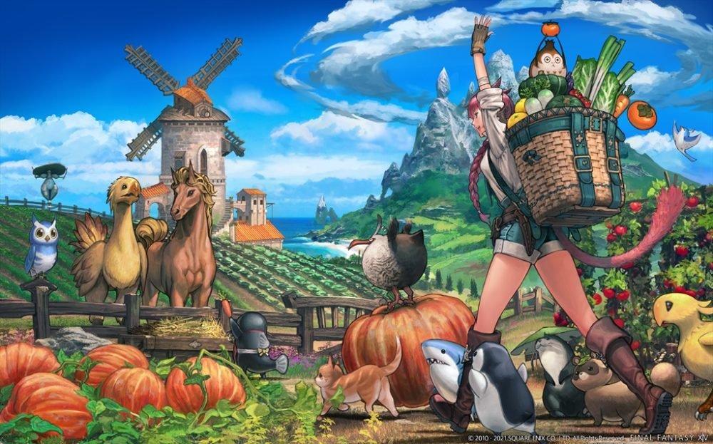 Final Fantasy XIV Endwalker Island Sanctuary