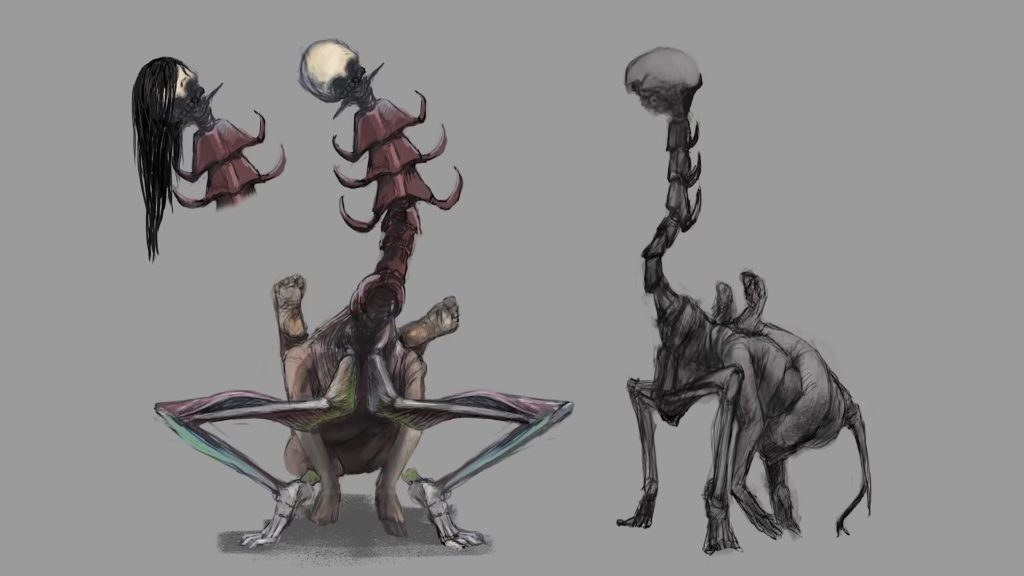 Concept art from Keiichiro Toyama's new company Bokeh Game Studio