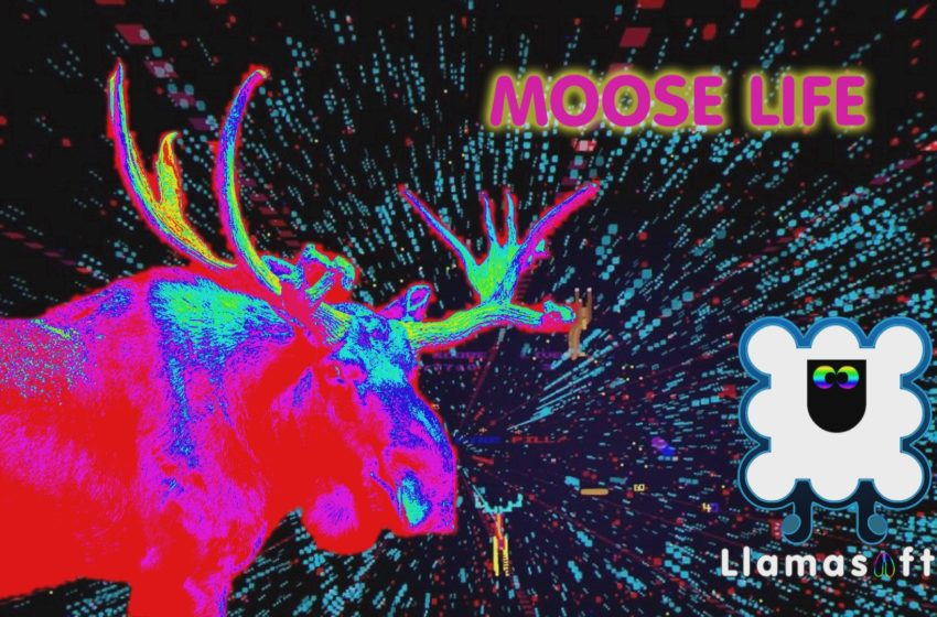 Jeff Minter's new game Moose Life is another dose of psychedelic awesomeness