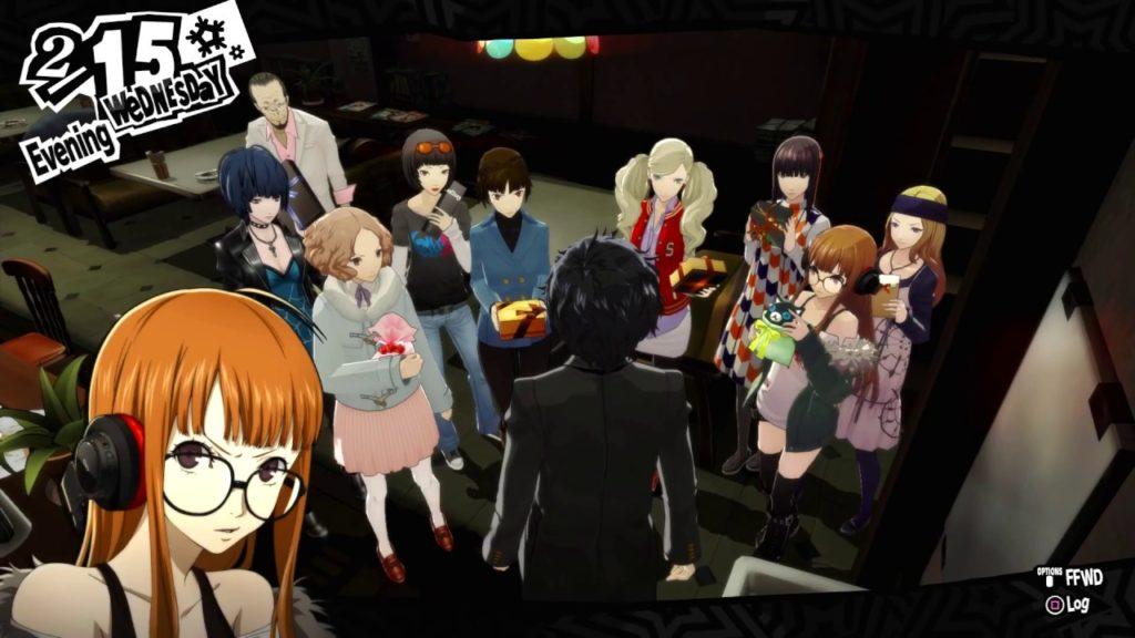 Persona 5 art style