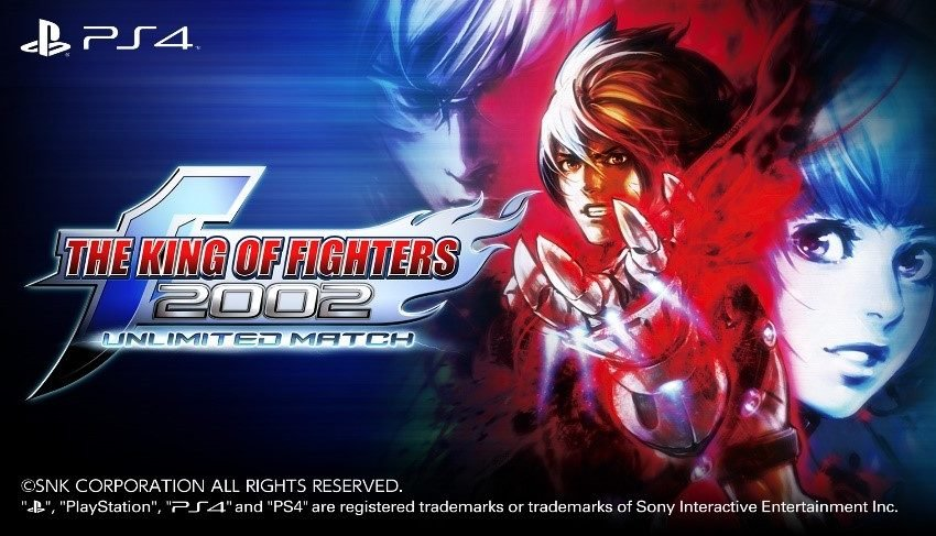 The King of Fighters 2002 Unlimited Match out now on PS4