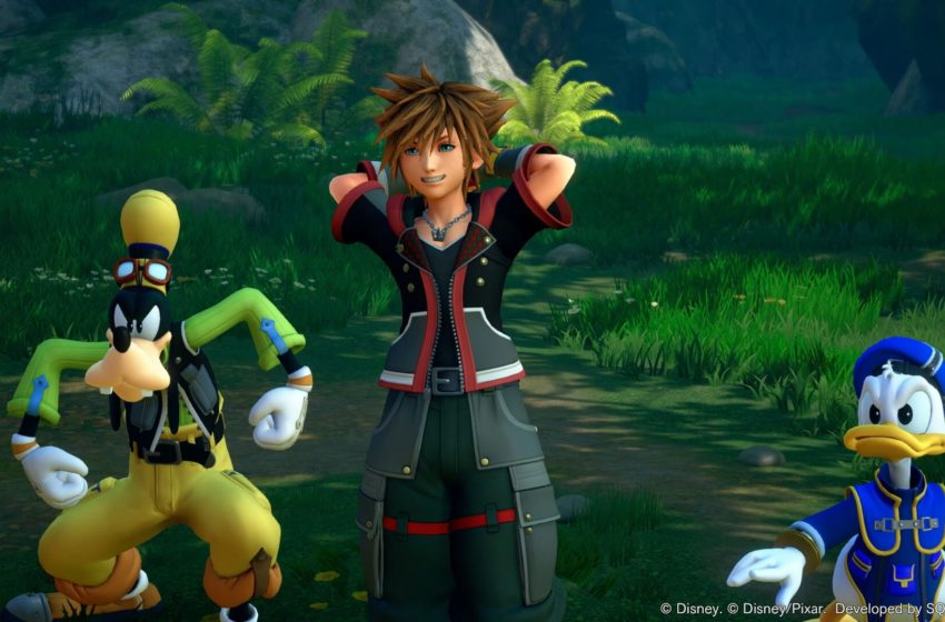 Most of the Kingdom Hearts series is now available on PC