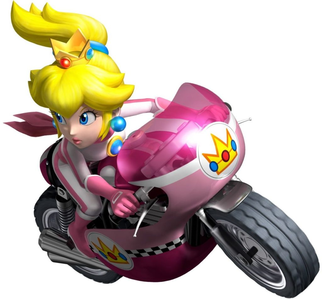 Princess Peach in Mario Kart 8