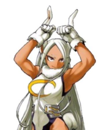 Miruko from My Hero Academia