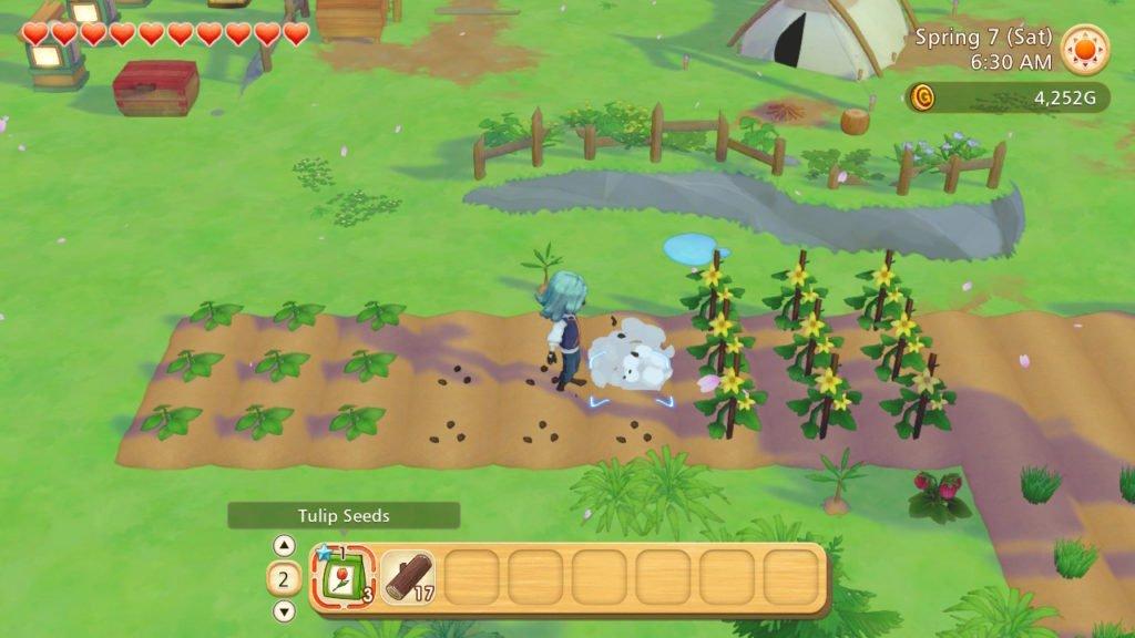 Story of Seasons Pioneers of Olive Town crops