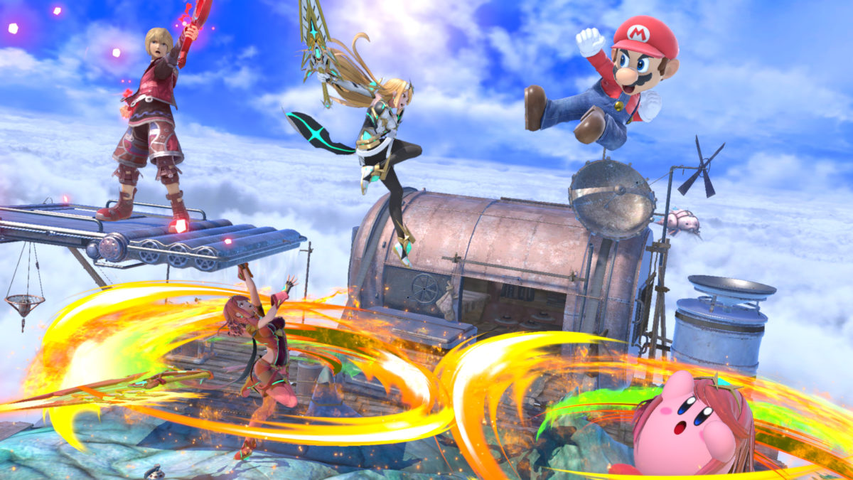 Pyra and Mythra join Super Smash Bros. Ultimate tomorrow
