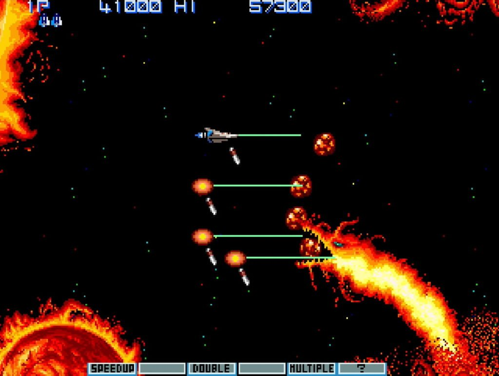 We'd love to see Gradius on Evercade.