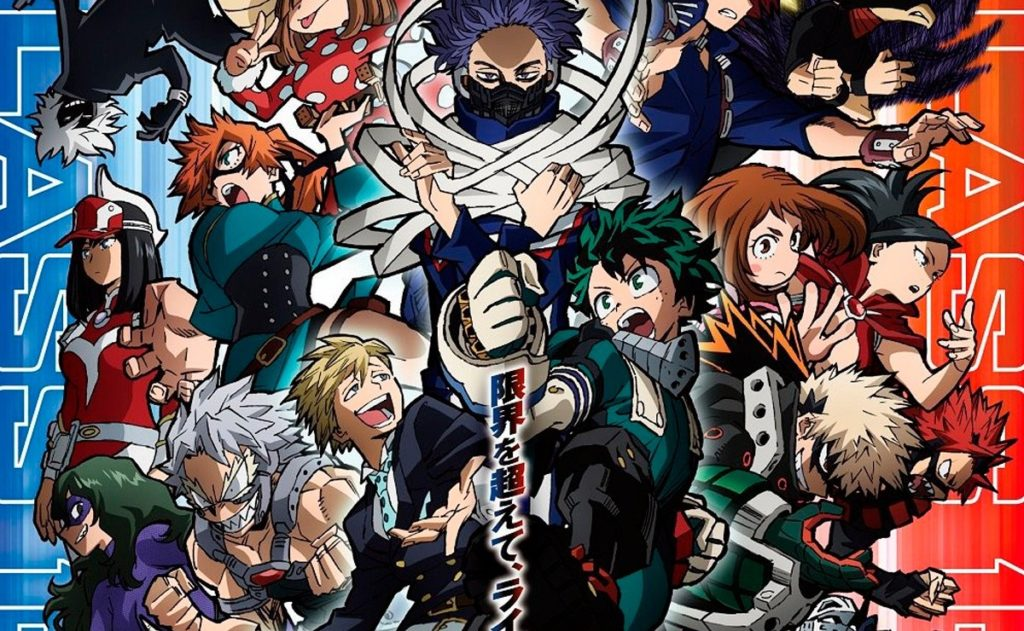 Spring anime My Hero Academia Season 5